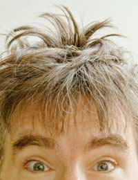 Grey Hair Dye Short Cut Colour Barber